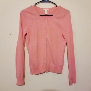 H&M pink Cardigans
